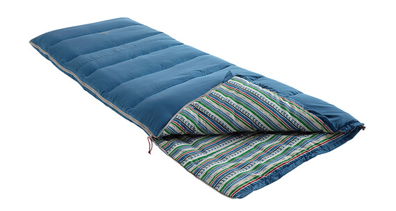 Nomad Bronco Sleepingbag Blue Ashes/Stripe